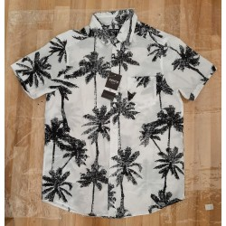 Men's Shirt with palm trees