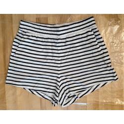 Ladies shorts in dark blue...