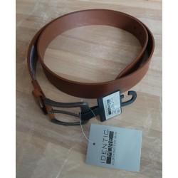 Men's belt dark brown