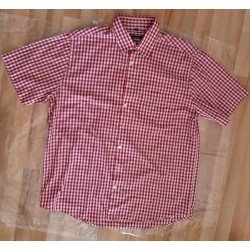 Men's shirt checked