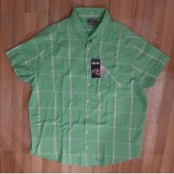 Men's shirt checked green /...