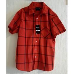 Men's shirt red / black...