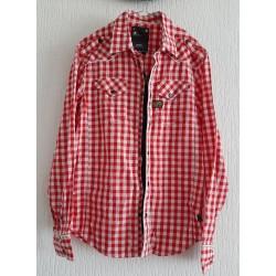 Men Shirt checkered long...