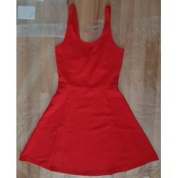 Ladies dress red