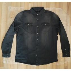 Jacket Men's shirt jeans black