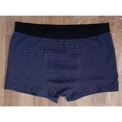 Boxer shorts dark blue striped