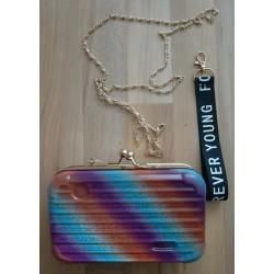 Ladies bag - Briefcase rainbow