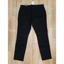 Neat long pants Slim Fit black