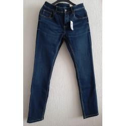 Denim jeans lange broek blauw