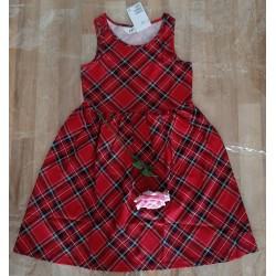 Children's dress checkered