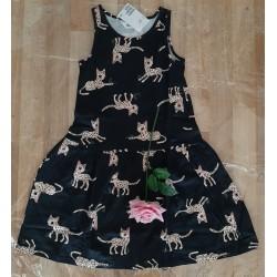 Children's dress tiger prints