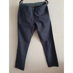 Neat long pants dark blue