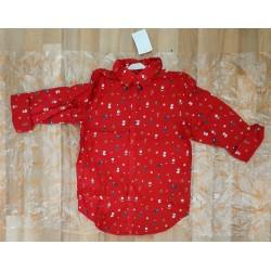Boys shirt christmas prints
