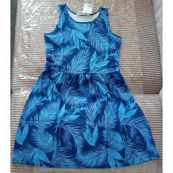 Children's dress dark blue...