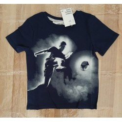 Boys t-shirt with soccer...