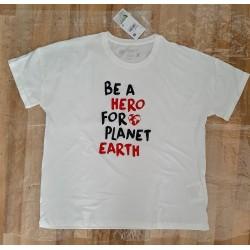 Ladies t-shirt BE A HERO...
