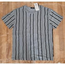 Men's T-shirt blue / gray