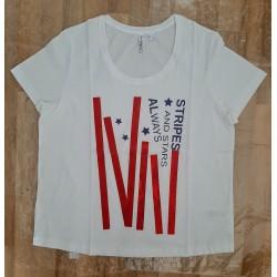 Ladies T-shirt white...