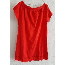 Ladies dress strawberry red...