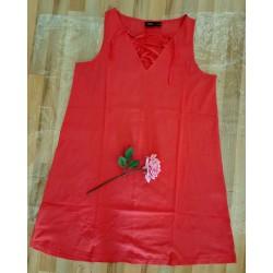Ladies dress lobster red...