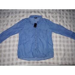 Ladies shirt blue