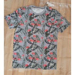 Men's T-shirt leaves and...
