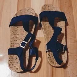 Ladies shoe - Sandal blue...