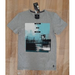 Men's T-shirt Born To Win gray