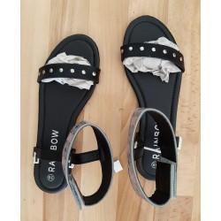 Ladies shoe black with...