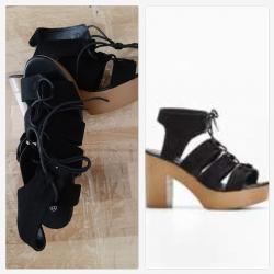 Ladies Shoes - Block heel...